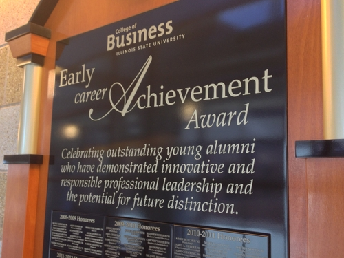 ECAA Display - State Farm Hall of Business