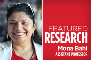 Dr. Mona Bahl - Featured Researcher