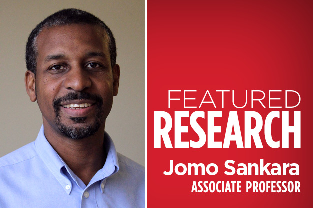 Dr. Jomo Sankara - Featured Researcher