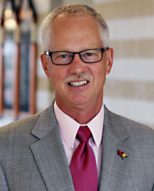 Department chair Dr. Gary Koppenhaver