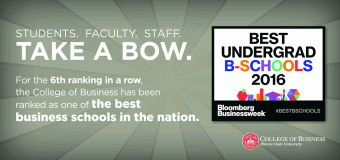 Best Undergrad B-Schools for 2016