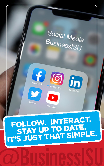 BusinessISU Social Media
